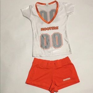 Authentic Hooters Uniform Size XS